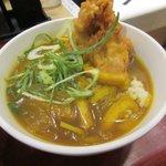 麺家大阪みどう - ミニカレー丼2017.10.09