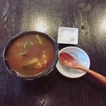 一麦七菜 - ミニカレー丼   ¥300