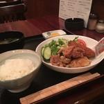 ハイラオ - 鶏からあげコロッケ定食