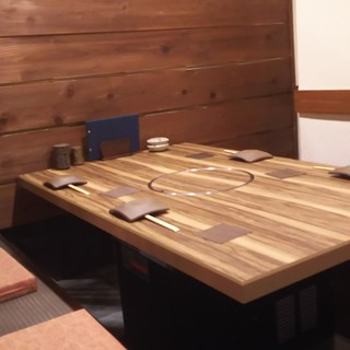 堀ごたつ4名テーブル
