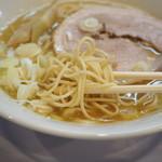 麺屋 瑞風 - 麺アップ