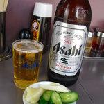 7470778 - 【2011.04. 初訪】 ビール(大瓶)550円はドライでした