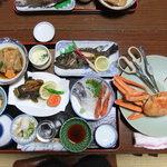 民宿さかや - 4/15夕食