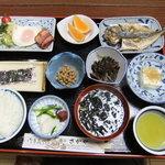民宿さかや - 4/16朝食