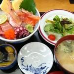 稲安 - 海鮮丼ランチ 1,080円