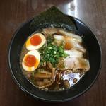 麺屋遊膳 - 尾道醤油らーめん〜(*^▽^*)❤️