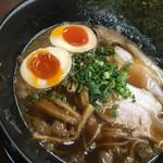 麺屋遊膳 - 尾道醤油らーめんのアップ〜(*^▽^*)❤️