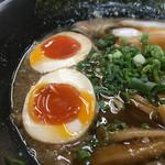 麺屋遊膳 - クーポンで半熟味玉ゲット╰(*´︶`*)╯♡