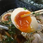 麺屋遊膳 - 半熟味玉リフト〜(*^▽^*)❤️