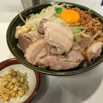 ハイパーファットン - 【2017.10.8】小汁なし¥900+豚1枚¥100