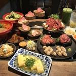 恵比寿焼肉寿司 別邸 - 4,500円コース