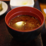 日本橋 ぼんぼり - 味噌汁