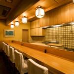日本料理 銭屋 - カウンター