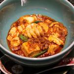 イチリン ハナレ - 陳麻婆豆腐 白子入り / ご飯