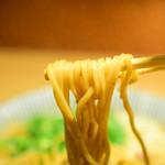 メンショー トーキョー - ラム煮干中華そば(味玉のせ)@税込850円