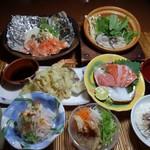 和風ダイニング 連 - 料理写真:秋の会席3000円