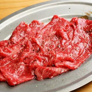 食べて頂き方の提案♪豊後牛にあうタレ&赤身専用塩オイル♪