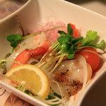 喜多扇 - カルパッチョ風の小皿