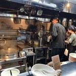 牛骨らぁ麺マタドール - 厨房