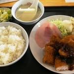 大陽食堂 - 料理写真:ササミフライ定食