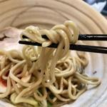 真道 - 全粒粉太麺が美味い(^^)