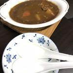 グランマ号 - カレー(取り皿&レンゲ人数分付き)300円