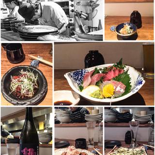完全無化調無添加の創作和食とそれに寄り添う純米系日本酒を是非
