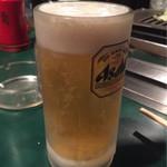 有楽 - 生ビール450円