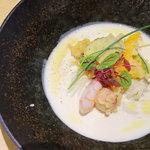 茶ぶ釜 - 料理写真:ビシソワーズ