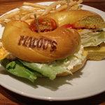 MACOU'S BAGEL CAFE - マンハッタンブレックファスト+フレンチフライ