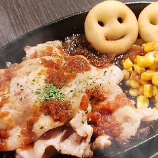 神奈川の銘柄豚を使用したガッツリ&ヘルシーな料理の数々