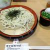 ちゃばちゃば - 料理写真:「ざるうどん」430円(税別)