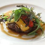 レ・マーニ - 岡山県産備前牛フィレ肉のグリル、ポルチーニのソース