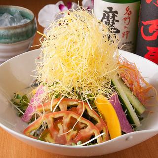 ◎糸島産◎豊かな大地で育った新鮮野菜で作る料理は絶品