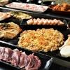 下町鉄板台所 蔵之蔵 - 料理写真:もんじゃ焼き付きグレードアップ贅沢コース