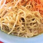くるまやラーメン - 麺(大盛)