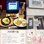 和民 - 【宴会 和食 居酒屋】JAPANESE DINING「和民」 池袋西口南蛮ビル店 ジムハイボール 、つくね、アボチ、ガチャ ¥1500弱(税込)