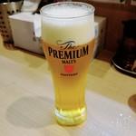 ガガナ ラーメン - プレモル190円