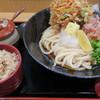 うどん和匠 - 料理写真:かき揚げぶっかけ定食