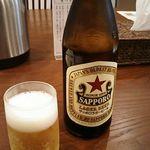 74734238 - 中瓶ビール 500円 2017年10月