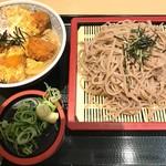 穂波 - 料理写真:ざる牡蠣とじ丼