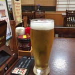 川勇 - 生ビール(グラス)
