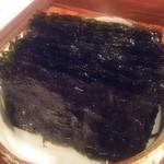 和牛焼肉なかやま - 料理写真:韓国海苔