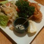 Kakura - 香食楽サラダ&唐揚げ