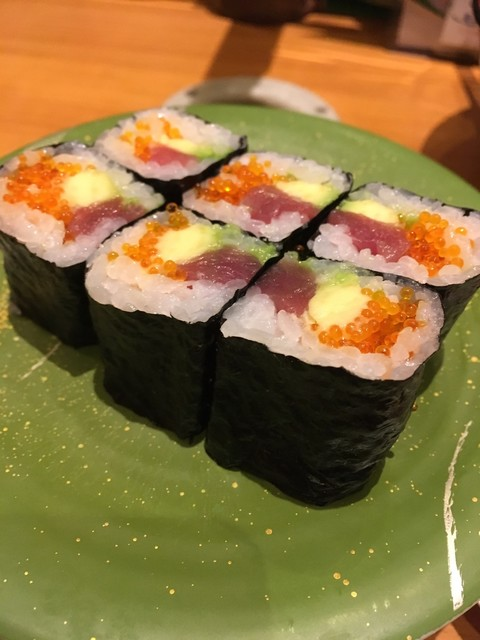 ひまわり寿司 新都心店 - ハワインアン巻き