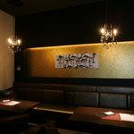 yebisu gogo cafe - ディナータイムは分煙で喫煙席もございます
