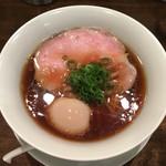 鳴龍 - 「醤油拉麺」850円+味玉
