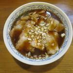 馬山 - 料理写真:焼豚中華そば(大)