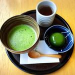 京はやしや - 薄茶と抹茶ようかんセット