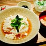 豆腐料理 空野 恵比寿店 - あんかけ湯葉丼